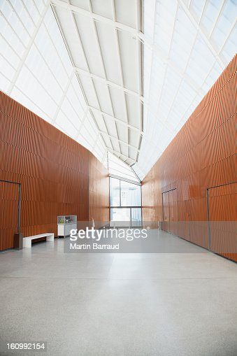 Corridor of modern office : Stock Photo