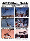 'Corriere dei Piccoli' newspaper telling children the adventures of Italian soldiers in Libya Italy Colonization of libya
