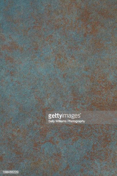 Corroded copper background