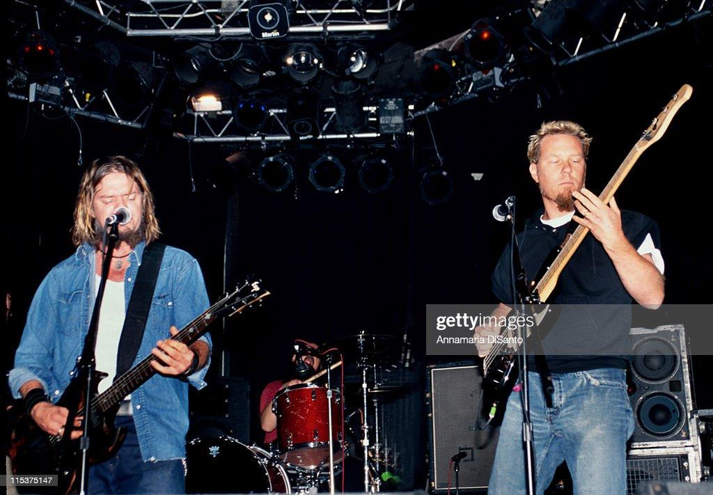 Corrosion of Conformity's Pepper Keenan and Metallica's James Hetfield
