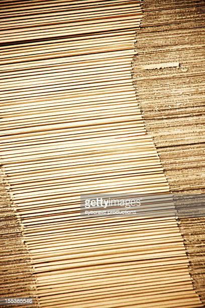 corrugated cardboard stack background