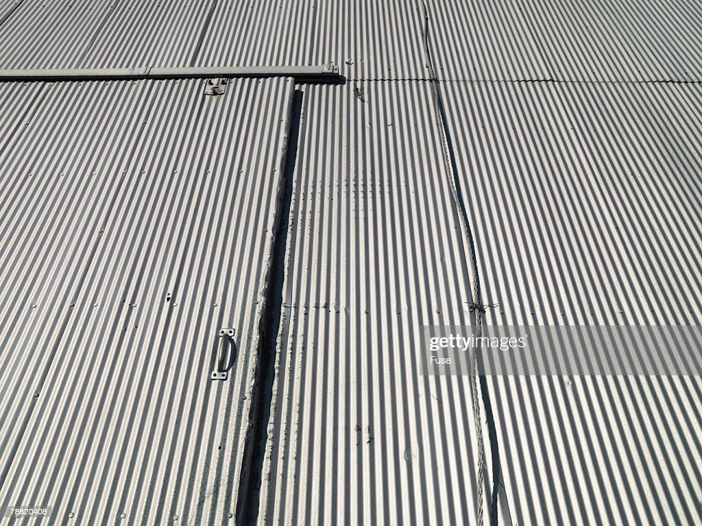 Corrugated Steel Door