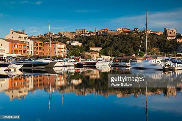 Corse-du-Sud, Corsica, Marina View