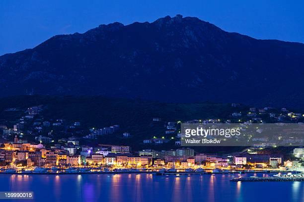 Corse-du-Sud, Corsica, Town View