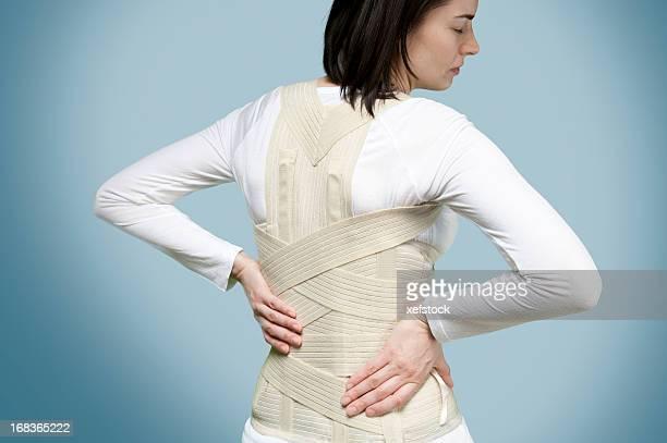 Corset pour un mal de dos