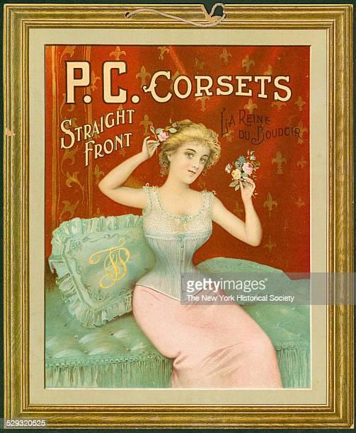 PC Corsets Straight Front La Reine Du Boudoir undated