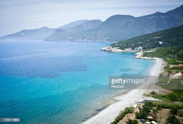 Corsica Coastline Landscape