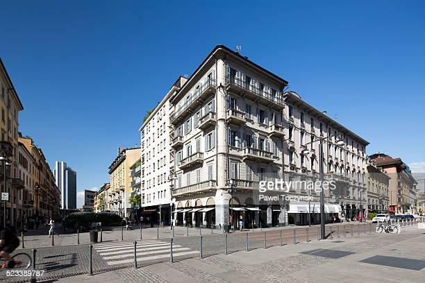 Corso Como pedestrian street, Porta Garibaldi