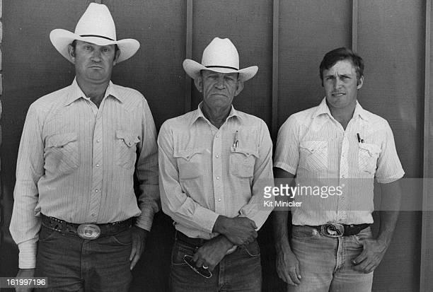 JUL 7 1983 AUG 7 1983 AUG 8 1983 Cortez Colorado Larry Everett Bent Bertrand Gerald Koppenhafer