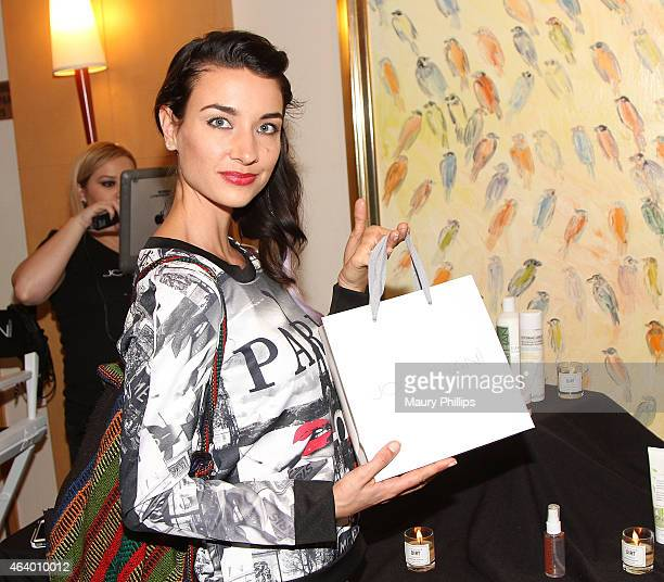 Cortney Palm attends GBK 2015 PreOscar Awards luxury gift lounge on February 20 2015 in Los Angeles California