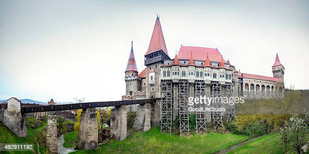 Corvin castle in Hunedoara
