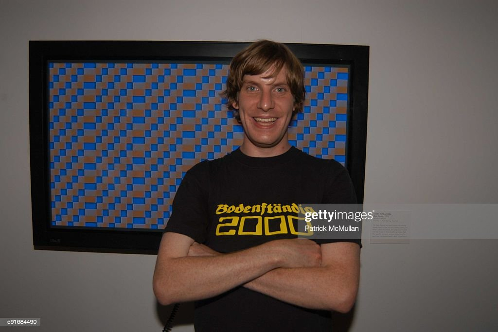 Cory Arcangel attends New Museum Hosts Opening Reception for Aernout Mik's Refraction Rhizome Artbase 101 at New Museum Of Contemporary Art on June...