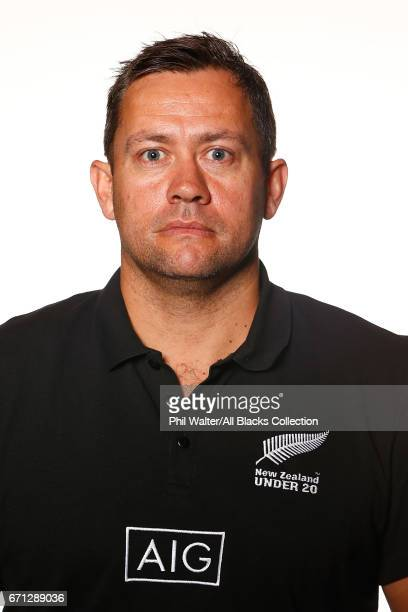 Cory Brown poses during the New Zealand U20 Headshots Session at Novotel Auckland Airport on April 22 2017 in Auckland New Zealand