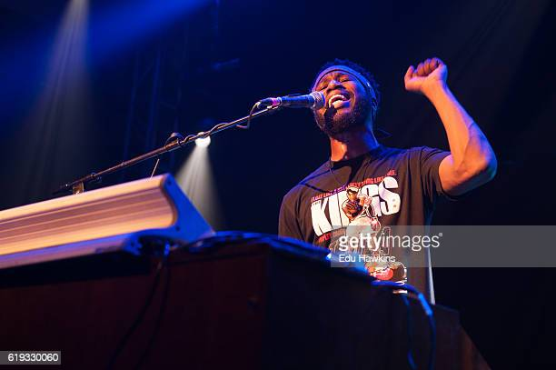 Cory Henry performs at O2 Academy Islington on October 30 2016 in London England