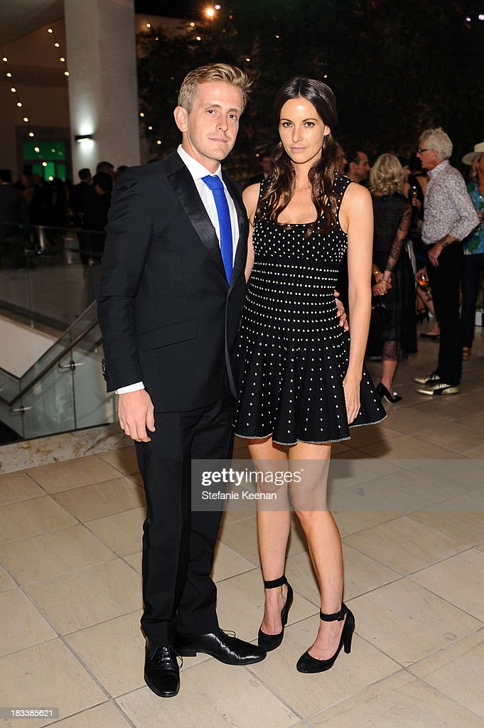 Cory James Bailey and Liz Carey attend Hammer Museum 11th Annual Gala In The Garden With Generous Support From Bottega Veneta, October 5, 2013, Los Angeles, CA at Hammer Museum on October 5, 2013 in Westwood, California.
