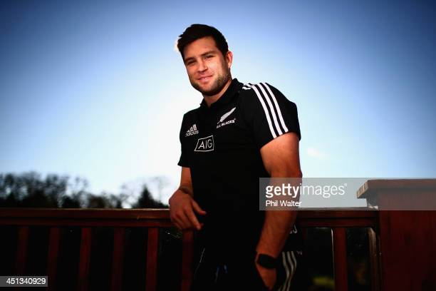 Cory Jane of the New Zealand All Blacks poses for a portrait during a media session at the Castleknock Golf Club on November 22 2013 in Dublin Ireland