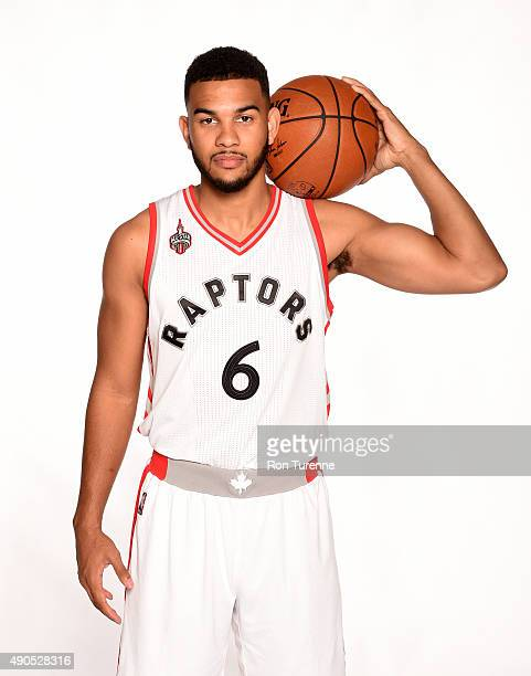 Cory Joseph of the Toronto Raptors poses for a photo during media day on September 28 at the Air Canada Centre in Toronto Ontario Canada NOTE TO USER...