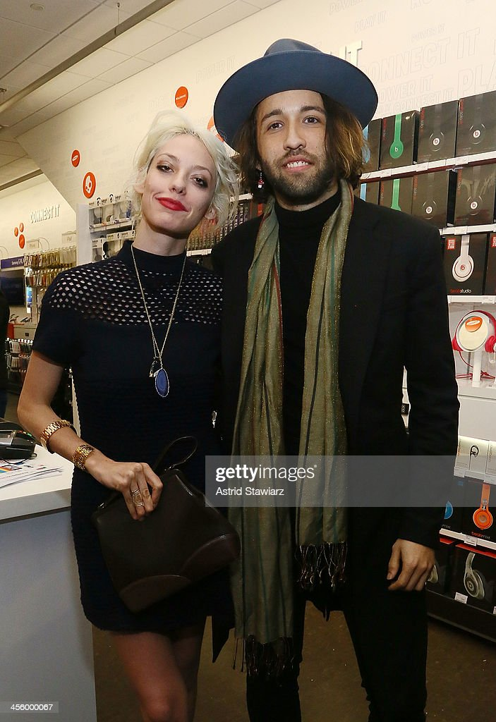 Cory Kennedy and Alexander Dexter-Jones attend the Charlotte Ronson Holiday Party At RadioShack Pop-Up Store in Times Square on December 12, 2013 in New York City.