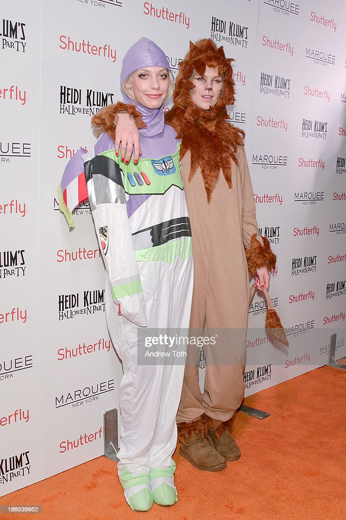 Cory Kennedy and <a gi-track='captionPersonalityLinkClicked' href=/galleries/search?phrase=Alexandra+Richards&family=editorial&specificpeople=213455 ng-click='$event.stopPropagation()'>Alexandra Richards</a> attend the 2013 Heidi Klum Halloween Party at Marquee on October 31, 2013 in New York City.