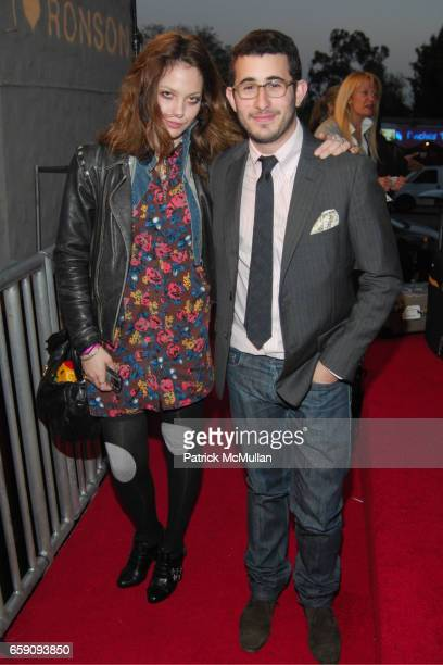 Cory Kennedy and Michael Fenton attend JCPenney and Charlotte Ronson Party at Bar Marmont on April 3 2009 in Hollywood CA