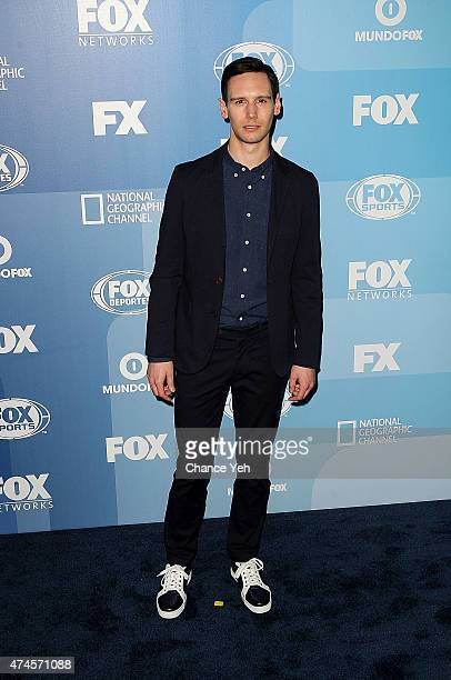 Cory Michael Smith attends 2015 FOX Programming Presentation at Wollman Rink Central Park on May 11 2015 in New York City