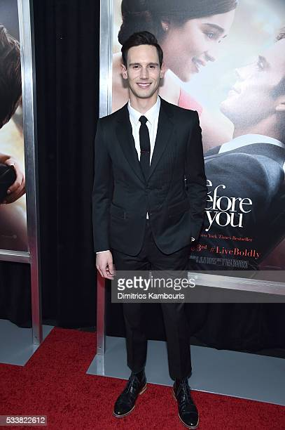 Cory Michael Smith attends 'Me Before You' World Premiere at AMC Loews Lincoln Square 13 theater on May 23 2016 in New York City