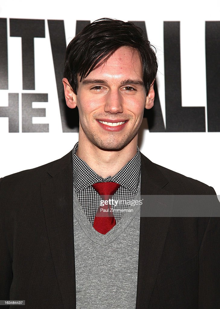 Cory Michael Smith attends the 'Hit The Wall' Off Broadway opening night at the Barrow Street Theatre on March 10, 2013 in New York City.