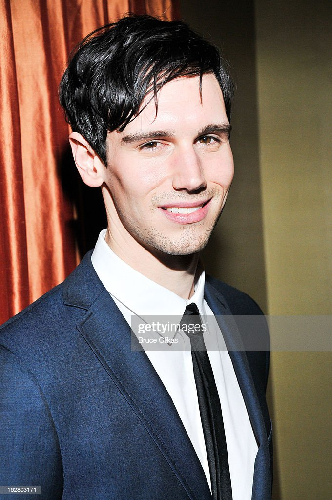 Cory Michael Smith attends the press preview for 'Breakfast At Tiffany's' at The Carlyle Hotel Princess Diana Suite on February 27, 2013 in New York City.