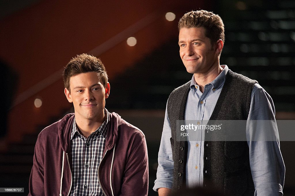 Corey Monteith and Matthew Morrison star in the 'Lights Out' episode of GLEE airing Thursday, April 25, 2013 (9:00-10:00 PM ET/PT) on FOX.