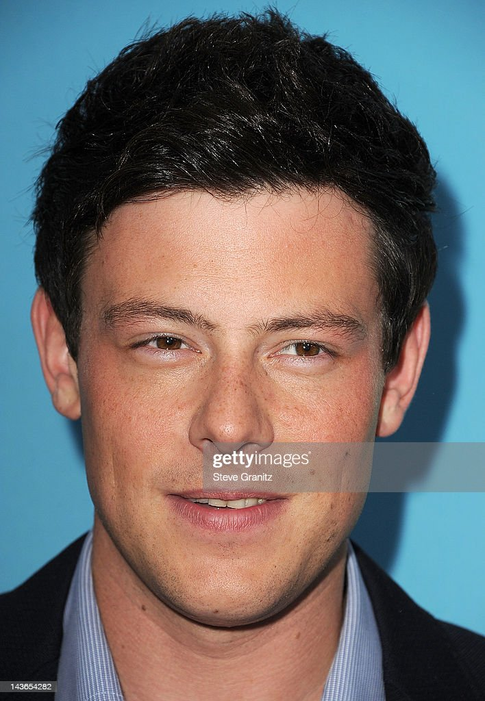 <a gi-track='captionPersonalityLinkClicked' href=/galleries/search?phrase=Cory+Monteith&family=editorial&specificpeople=4491048 ng-click='$event.stopPropagation()'>Cory Monteith</a> attends TV Academy's special screening of 'GLEE' at Leonard H. Goldenson Theatre on May 1, 2012 in North Hollywood, California.