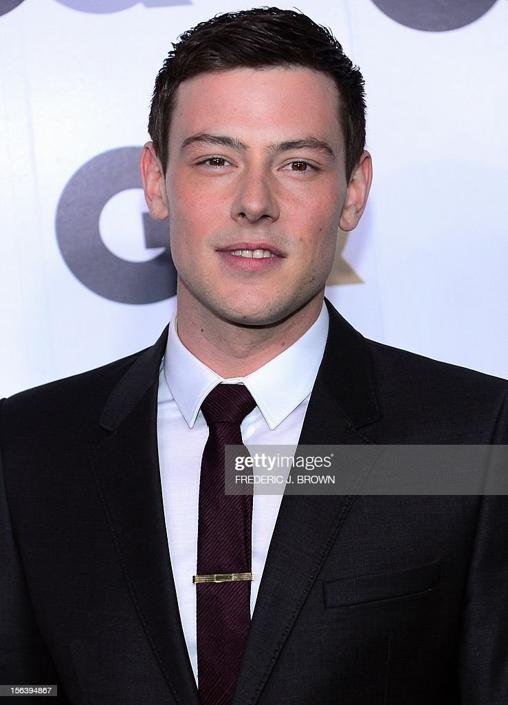 Cory Montieth poses on arrival for the GQ Men of the Year Party at Chateau Marmont on Sunset Blvd., in Hollywood, California, on November 13, 2012. AFP PHOTO / Frederic J. BROWN