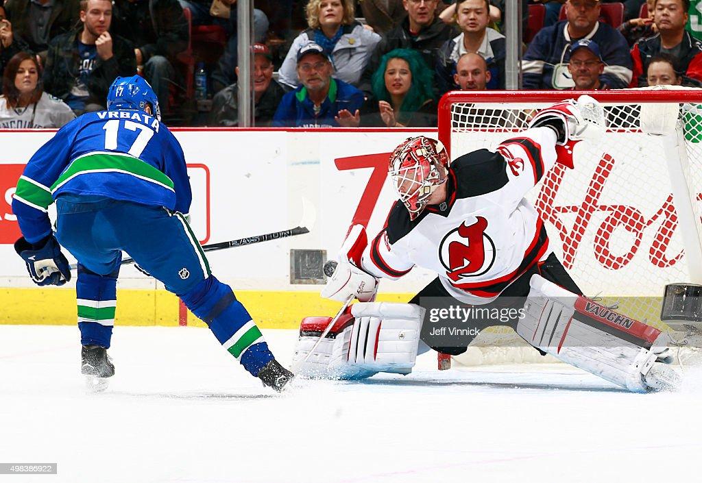 New Jersey Devils v Vancouver Canucks