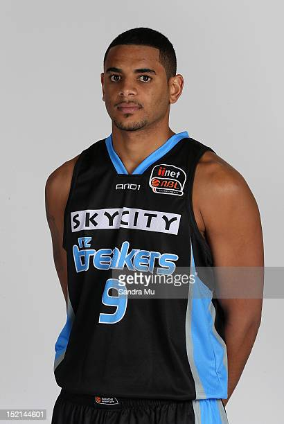 Cory Webster of the Breakers poses for a headshot at the Breakers Headquarters on September 17 2012 in Auckland New Zealand
