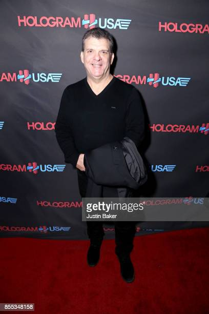 Cory Weisman attends Hologram USA's Gala Preview at Hologram USA Theater on September 28 2017 in Los Angeles California