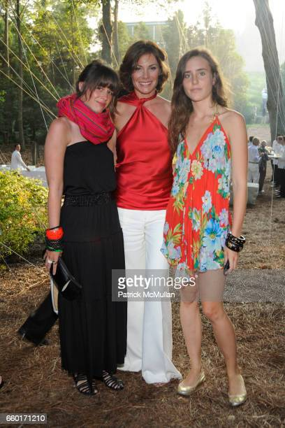 Coryn Nadeau Countess LuAnn de Lesseps and Victoria de Lesseps attend 'Inferno' The 16th Annual WATERMILL CENTER Summer Benefit at The Watermill...