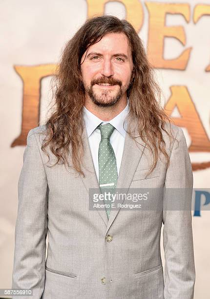 Coscreenwriter Toby Halbrooks arrives at the world premiere of Disney's 'PETE'S DRAGON' at the El Capitan Theater in Hollywood on August 8 2016 The...