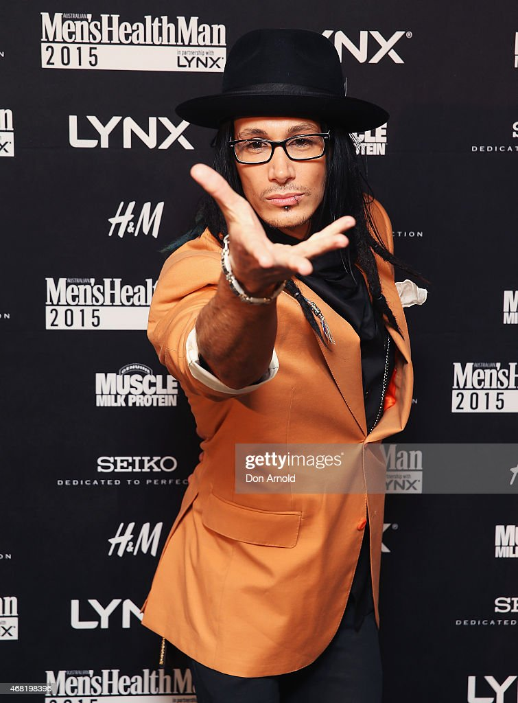 Cosentino arrives at the Men's Health MAN Gala event at Simmer on the Bay on March 31, 2015 in Sydney, Australia.
