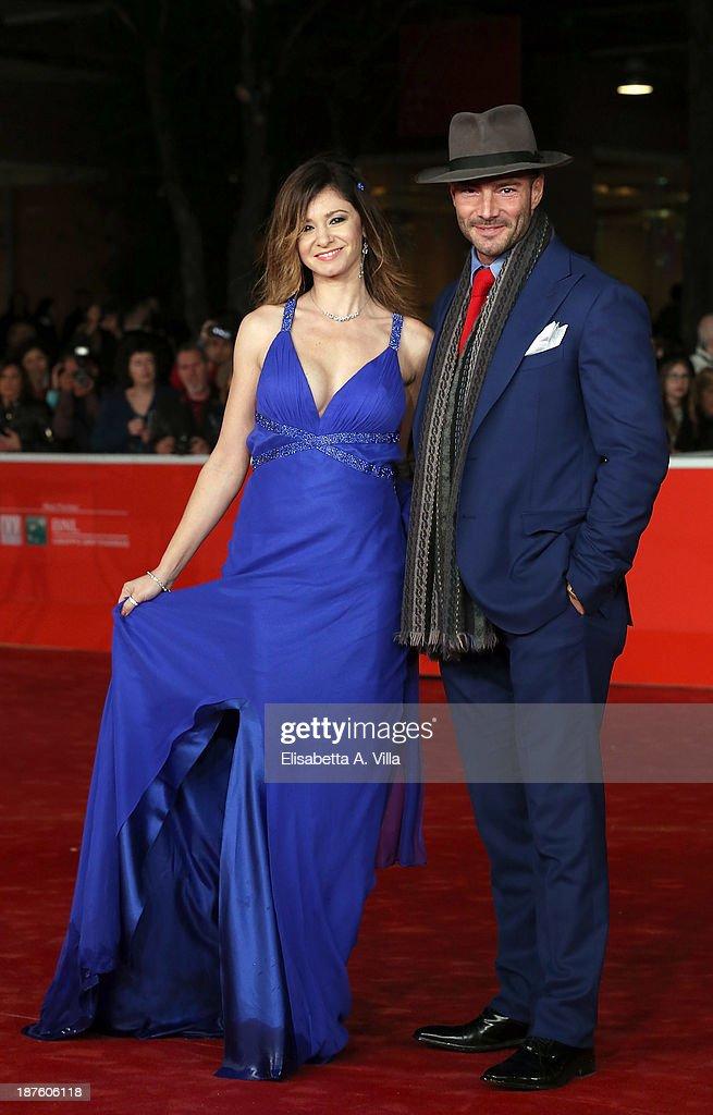 Cosetta Turco (L) attends 'Come Il Vento' Premiere during The 8th Rome Film Festival on November 10, 2013 in Rome, Italy.
