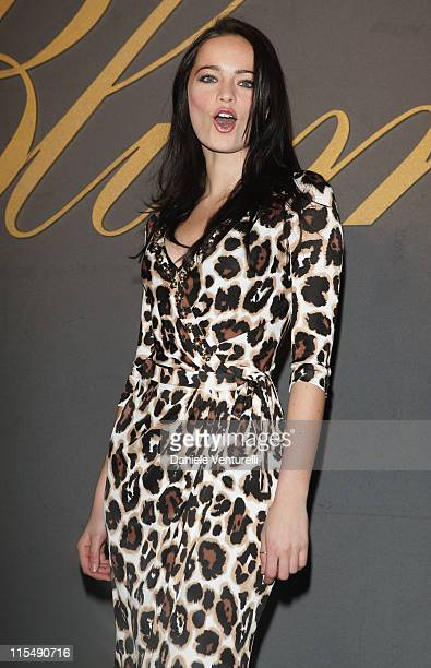 Cosima Coppola attends the Blumarine show as part of Milan Fashion Week Autumn/Winter 2008/09 on February 19 2008 in Milan Italy