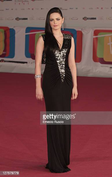 Cosima Coppola attends the 'Viso D' Angelo' Premiere during the 2011 Rome Fiction Fest at Auditorium Parco Della Musica on September 29 2011 in Rome...