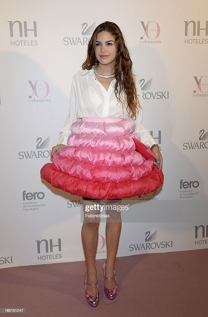 Cosima Ramirez Ruiz de la Prada attends Yo Dona and Swarovski 'Pink Hope' event on October 17, 2013 in Madrid, Spain.