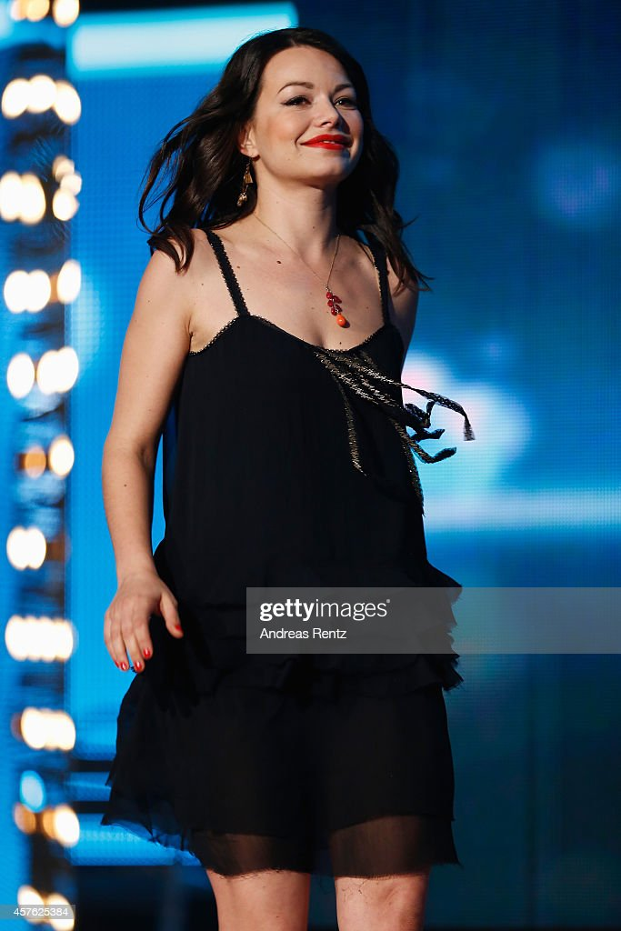 Cosma Shiva Hagen attends the 18th Annual German Comedy Awards at Coloneum on October 21 2014 in Cologne Germany The show will be aired on RTL on...