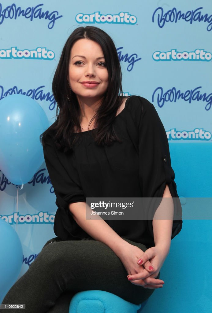 Cosma Shiva Hagen attends the 'Cartoonito Maerchenstunde' preview screening of payTVchannel Boomerang at the MIXT Kinderkunsthaus on March 8 2012 in...