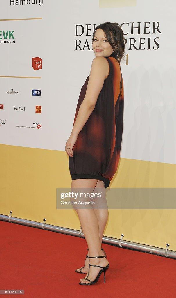 Cosma Shiva Hagen attends the German Radio Award 2011 on September 8 2011 in Hamburg Germany