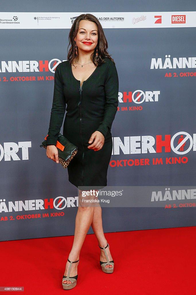 Cosma Shiva Hagen attends the 'Maennerhort' Berlin Premiere on September 2 2014 in Berlin Germany