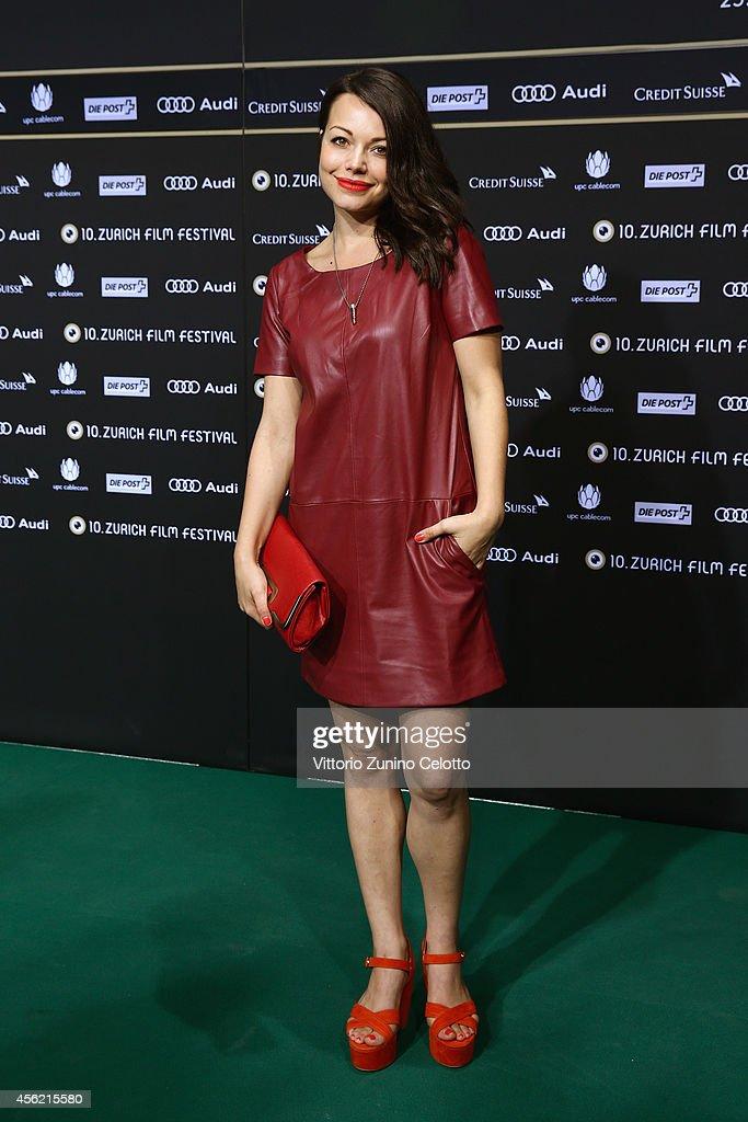 Cosma Shiva Hagen attends the 'Maennerhort' Green Carpet Arrivals during Day 3 of Zurich Film Festival 2014 on September 27 2014 in Zurich Switzerland