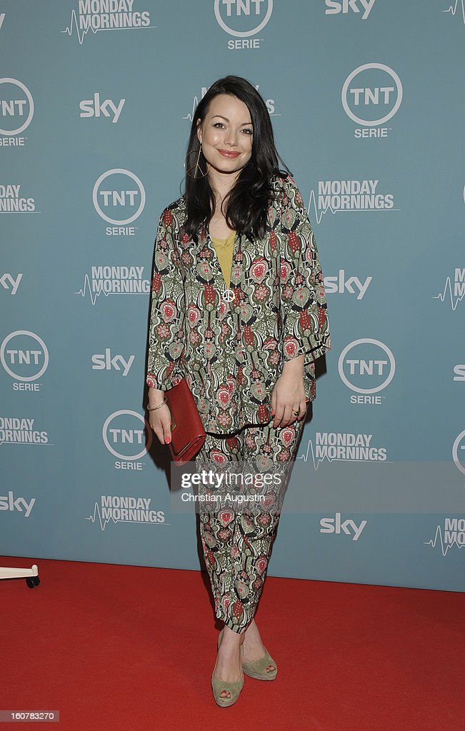 Cosma Shiva Hagen attends the 'Monday Mornings' Preview Event of TNT Serie at East Hotel on February 5th, 2013 in Hamburg, Germany. The series premieres on February 7th (every Thursday at 8:15 pm on TNT Serie).