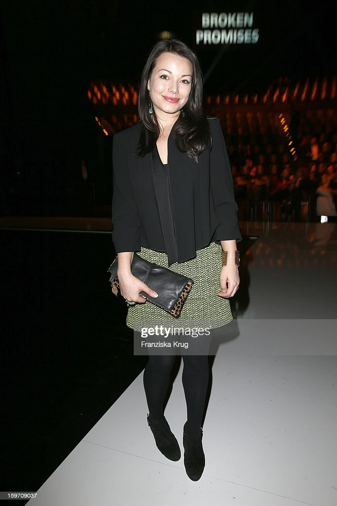 Cosma Shiva-Hagen attends the 'Michalsky Style Nite After Show Party - Mercesdes-Benz Fashion Week Autumn/Winter 2013/14' at Tempodrom on January 18, 2013 in Berlin, Germany.