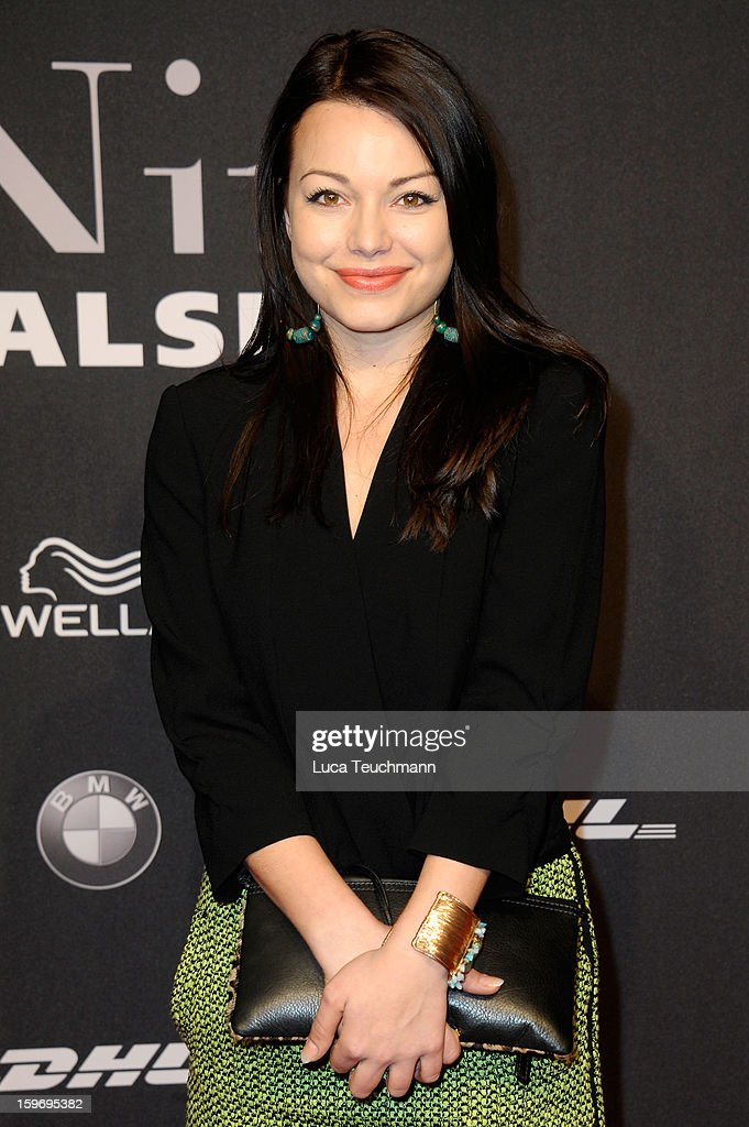 Cosma-Shiva Hagen attends Michalsky Style Nite Arrivals - Mercedes-Benz Fashion Week Autumn/Winter 2013/14 at Tempodrom on January 18, 2013 in Berlin, Germany.