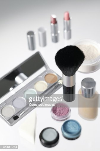 Cosmetic assortment : Stock Photo